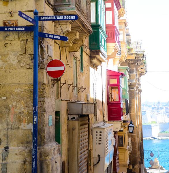 Valletta Street Corner
