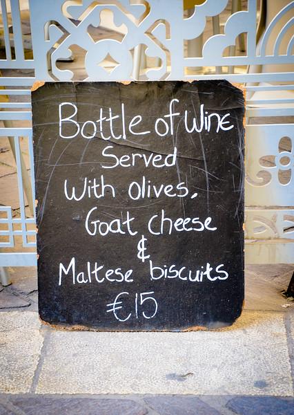 €15 Breaktime Meal<br /> Valletta
