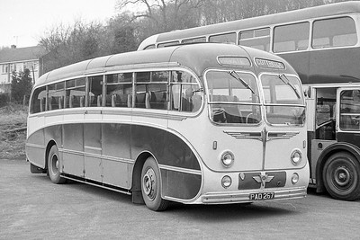 1955 AEC Reliance with Burlingham Seagull body
