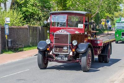 BNK758 1937 Albion SPM