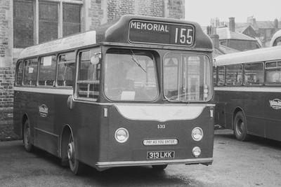 1960 Albion Nimbus with Harrington body