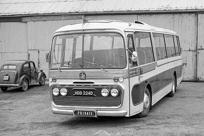 1966 Bedford VAM14 with Plaxton body