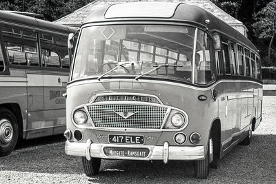 1963 Bedford SB8 with Duple body