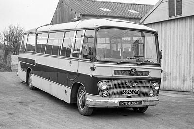 1963 Bedford SB8 with Duple Bella Vega body