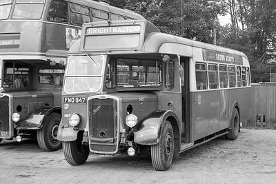 1950 Bristol LL6B with ECW body