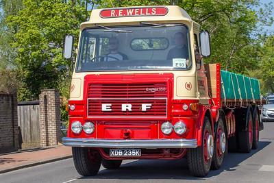 XDB235K 1972 ERF LV