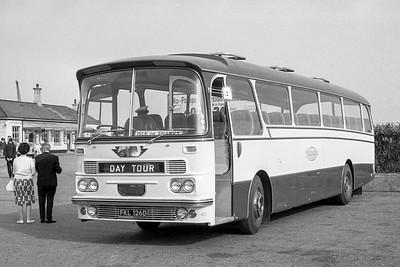 1966 AEC Reliance with Harrington Grenadier body