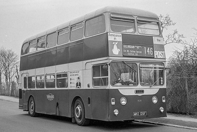 1968 Daimler Fleetline CRG6LX with Northern Counties body