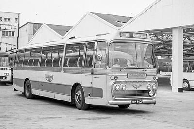 1968 AEC Reliance with Plaxton body