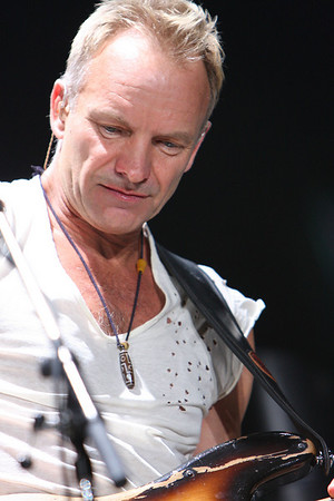 THE POLICE - STING
