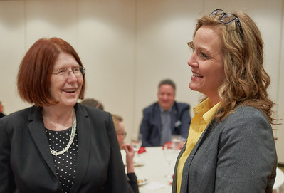 Rep. Tina Liebling (DFL-Rochester) and MAOSC Executive Director Tina Rennemo.