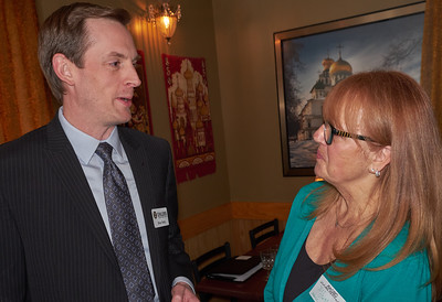 Brian Reilly of Ehlers and Jill Sletten