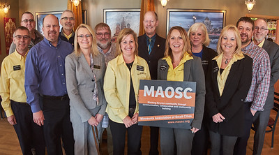 Jeff Thompson, James Joy, John Douville, Tim Burkhardt, Shannon Mortenson, Jeff Kletscher, Wendy Pederson, Sen. Majority Leader Paul Gazelka, Tina Rennemo, Mary McComber, Lori Jorgenson, Jonathan Smith, Joel Young