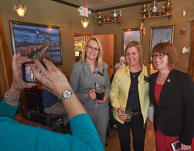 Shannon Mortenson, Wendy Pederson, Rep. Erin Murphy