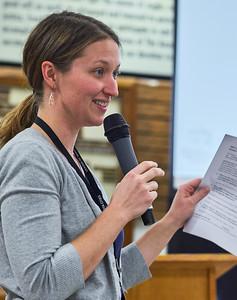 LMC member relations coordinator Heather Corcoran