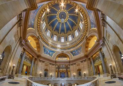 Capitol Rotunda from 2nd floor