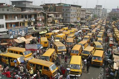 NIGERIA TRAFFIC TROUBLE