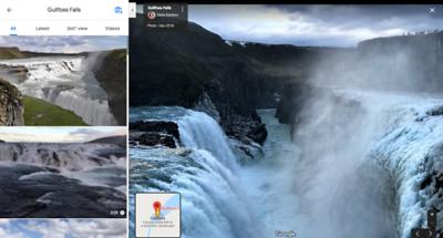 Waterfall 1.45 min drive from Reykjavík