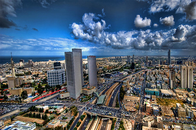 tel-aviv-center-skyline-ron-shoshani