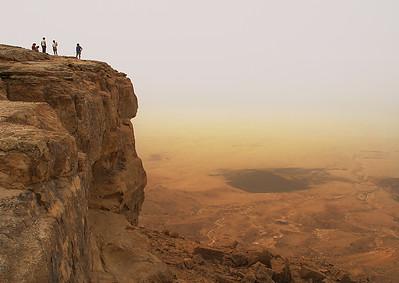 Ramon-krater-Negevn-woestijn