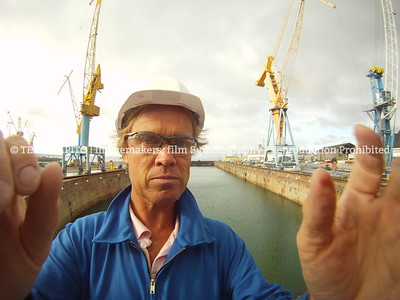 Offshore photographer Frans van den Bemd @work | team Mapito subcontractor for Damen Shiprepair