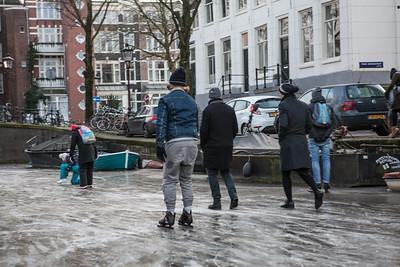 Amsterdam on ice