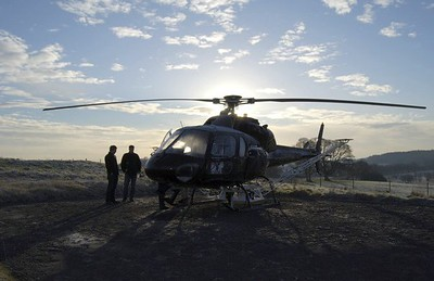 Helicopter Lidar, Enniskillen , N Ireland