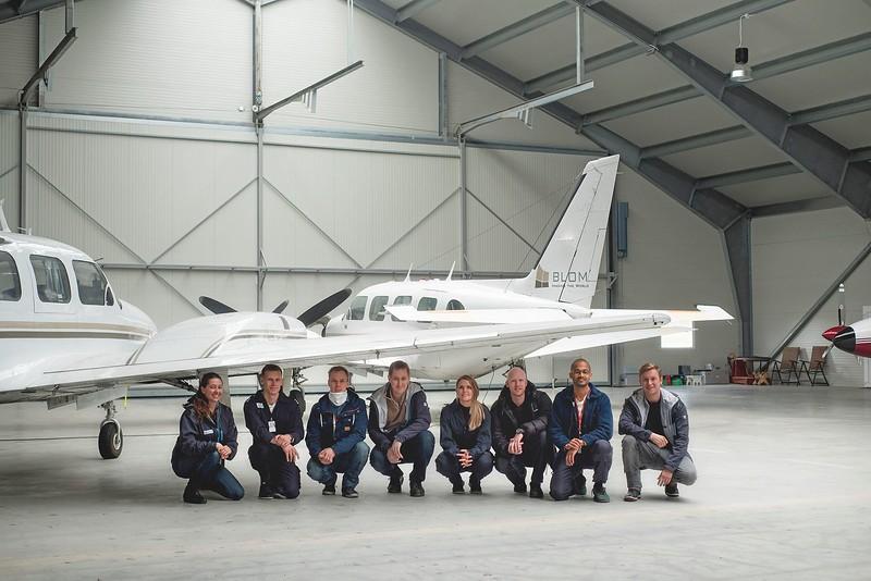 Pilot and Operators of  Blom in Norway 2016