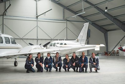 Pilot and Operators of  Blom in Norway 2016