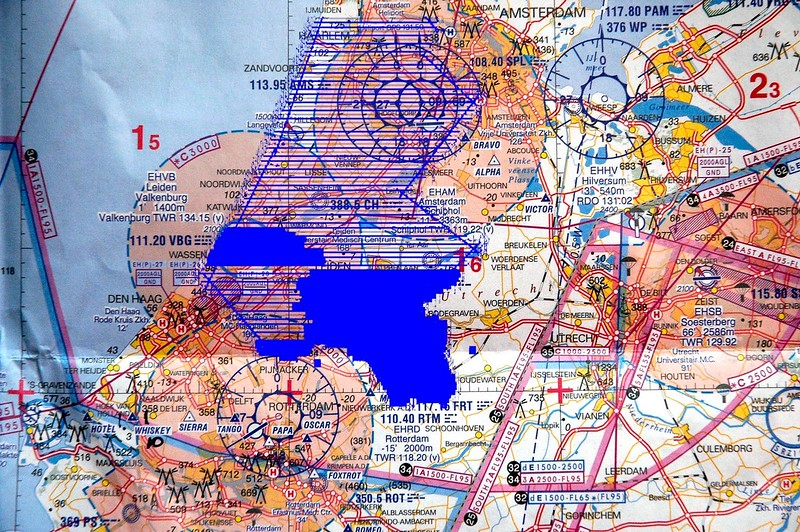 Project to map all of Holland for the flood defences 2008