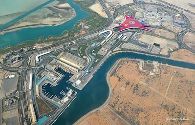 Abu Dhabi Formula 1 race circuit