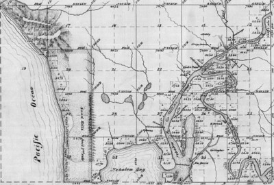 Surveyors in the 1870s identified properties already owned and mapped the area ready for the homesteaders to follow during the next 20 years.