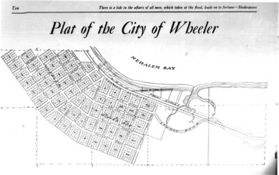 The main portion of Wheeler was platted in 1910 with the north (Rowe's) addition following in 1911.
