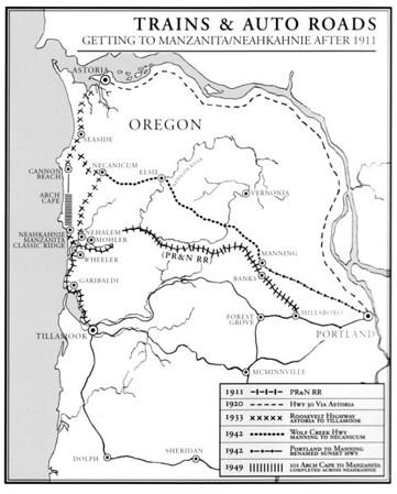 roads and railroads