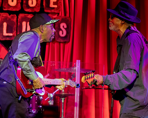 John Primer (l) and Danny O'Connor | John Primer and the Real Deal Blues Band