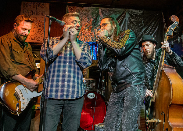 (l-r) Gerry Hundt, Ronnie Shellist, Dennis Gruenling and Rodrigo Mantovani | Nick Moss and Friends