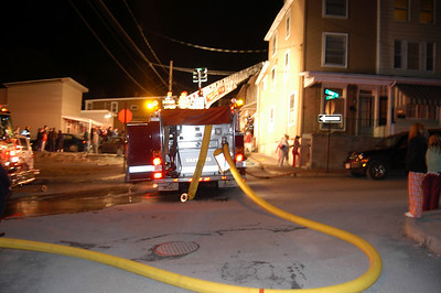 TAMAQUA STRUCTURE FIRE 3-13-09 PICTURES  BY COALREGIONFIRE