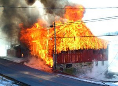 WEST PENN TOWNSHIP STRUCTURE FIRE 3-3-09