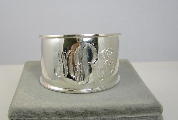 0-MONO-CUFF CO140 STERLING CUFF BRACELET TO MONOGRAM---  ENGRAVING 75.00  GREAT SANTA PRESENT  ENGRAVING TAKES 4 WEEKS   ORDER EARLY FOR XMAS