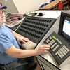 KEVIN HARVISON | Staff photo<br /> American Legion First Vice Commander and BINGO caller, Bill Teague, goes over how the BINGO machine works.