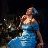 Mezzo-soprano Audrey Babcock is Maria in San Diego Opera's MARIA DE BUENOS AIRES, January 2018. Photo by Karli Cadel.