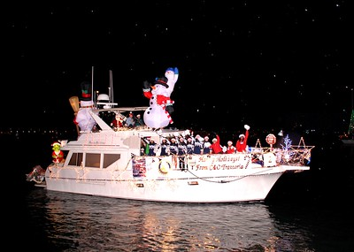 2007 Marina Del Rey Holiday Boat Parade