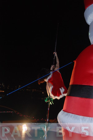 54th Annual Holiday Boat Parade MYC Wins Best Yacht Club