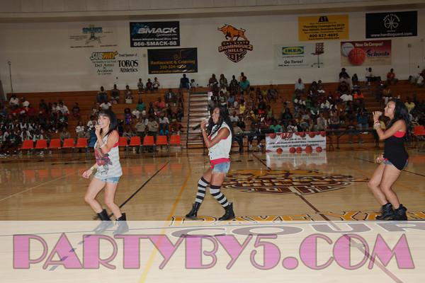 KJLH Celebrities VS Sheriffs Basketball Tournament