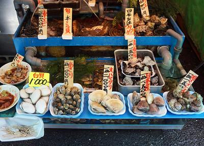 TSUKIJI MARKET - TOKYO