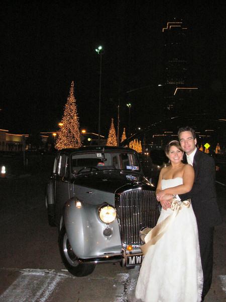 With Tamara & Harrison - December 29, 2007 Houston - Post Oak Blvd