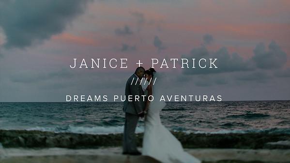JANICE + PATRICK ////// DREAMS PUERTO AVENTURAS