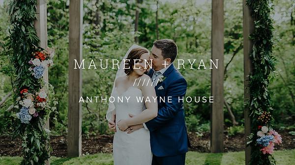 MAUREEN + RYAN ////// ANTHONY WAYNE HOUSE