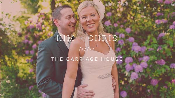 KIM + CHRIS ////// THE CARRIAGE HOUSE