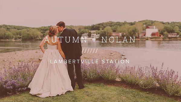 AUTUMN + NOLAN ////// LAMBERTVILLE STATION